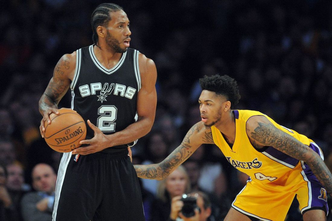 Kawhi Leonard Lakers