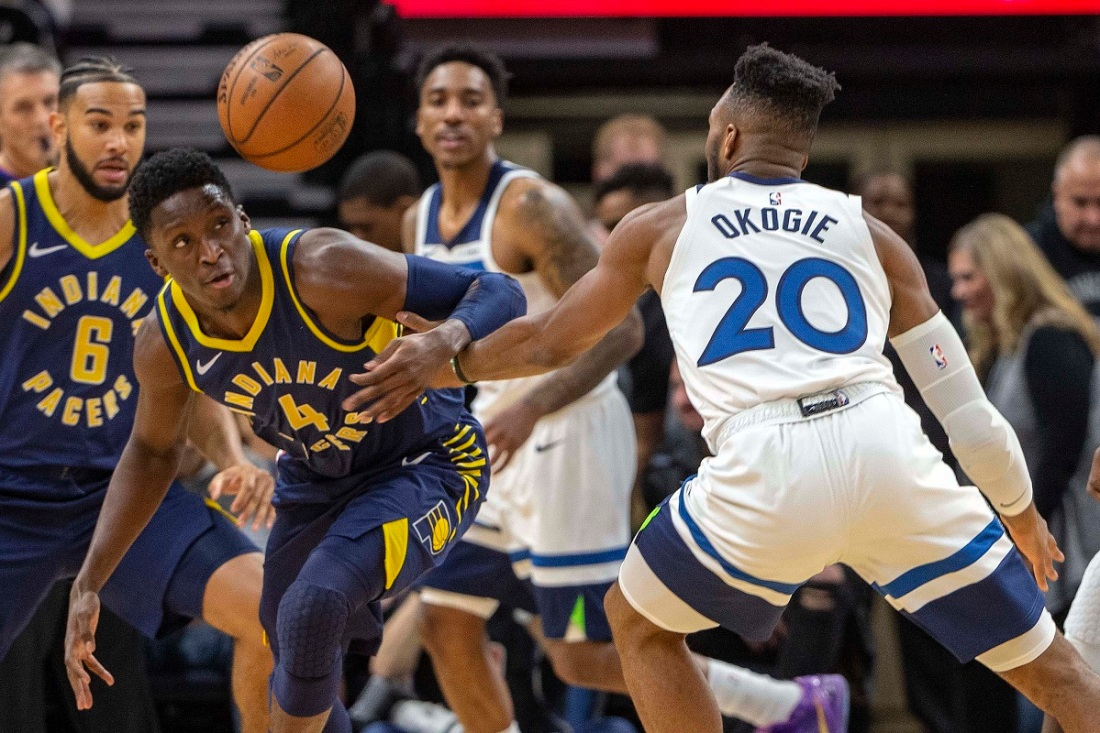 Pacers @ Timberwolves