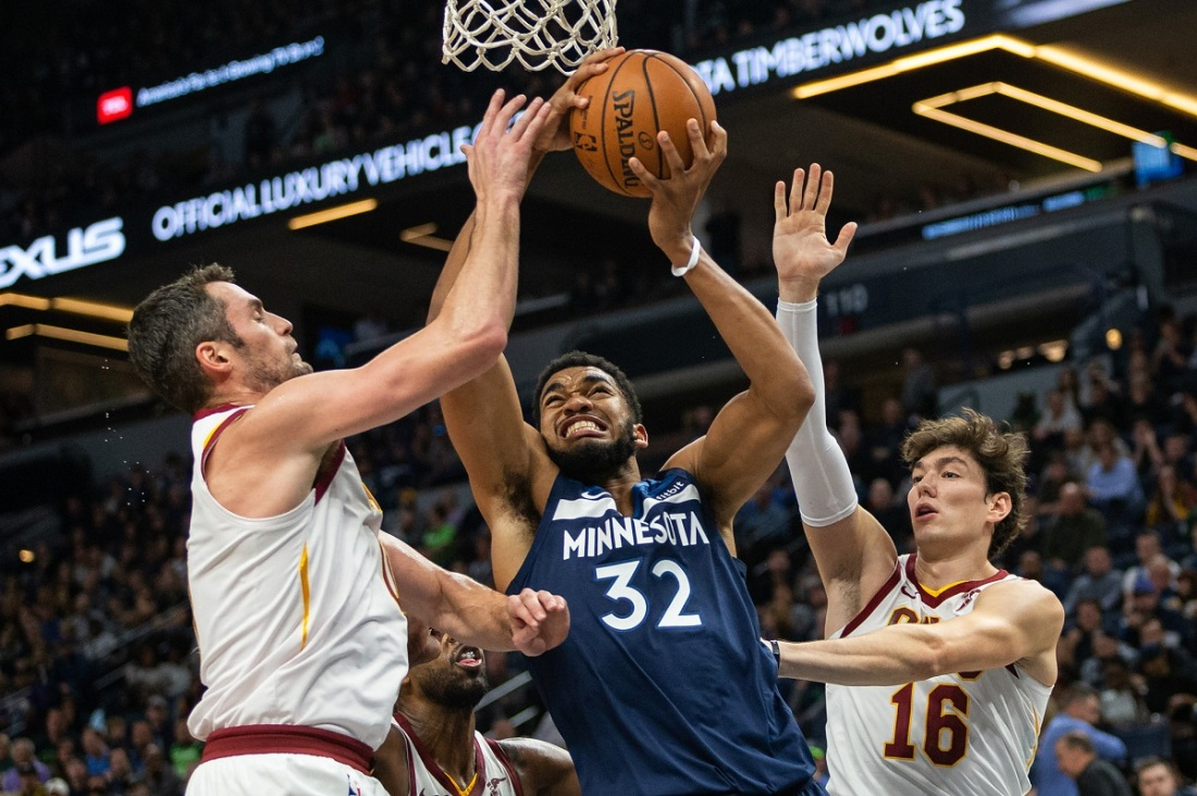 Timberwolves and Cavaliers